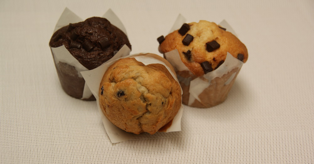 Muffin's double chocolat