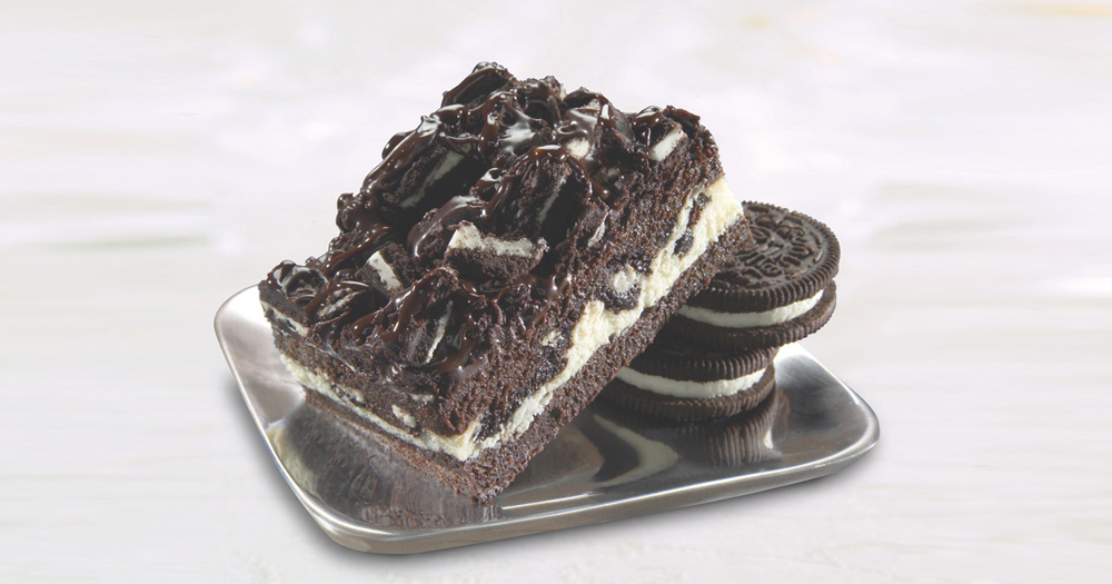 Cookies & cream brownie